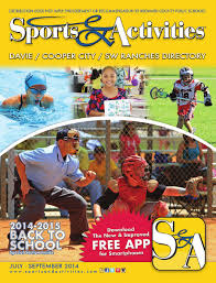 davie cooper city u0026 sw ranches sports u0026 activities directory by