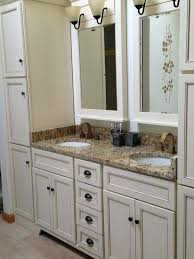 Bathrooms With Bronze Fixtures Delta Bronze Bathroom Faucet Vanity In Biscuit With Delta Faucets