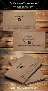 Wood Texture Business Card Landscaping Business Card By Designities Graphicriver