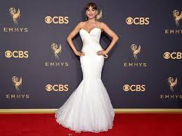 2017 emmys sofía vergara basically wore a bridal gown instyle com