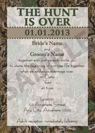 Camo Wedding Invitations Hunting Camo Themed Pink Wedding Invitation Guide For