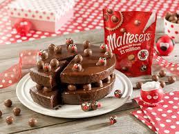 double layer chocolate and maltesers celebration cake recipe