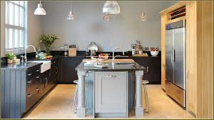 Two Tone Kitchen by Two Tone Gray Kitchen Cabinets