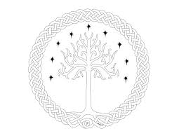 yggdrisil tree of gondor lines by thedarknesswithinme9 on deviantart