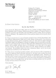 sample recommendation letter for masters program in computer