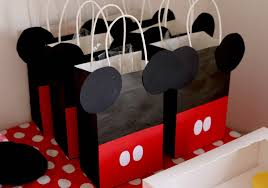 mickey mouse favor bags mickey mouse party table ideas the pered