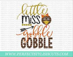 miss gobble gobble svg dxf eps png files for cameo