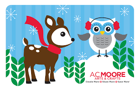 a c moore gift card