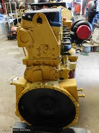caterpillar 3406 six cylinder turbo diesel engine item dm9