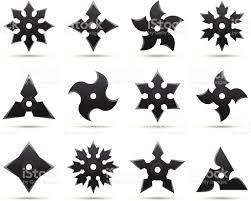 ninja stars stock vector art 161750612 istock