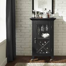 Gray Bar Cabinet Alcott Hill Saltsman Bar Cabinet U0026 Reviews Wayfair