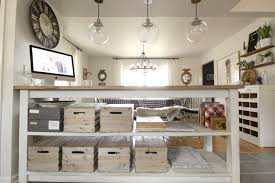 industrial kitchen island with storage from crates pallets kitchen island crate storage