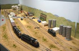 merkel s ho scale railroad