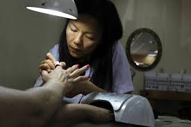 are california nail salons safe for workers la times