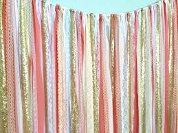 pink and gold curtains u2013 teawing co