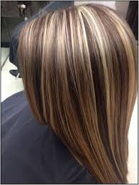blonde hair with chunky highlights brown hair with chunky blonde and auburn highlights google
