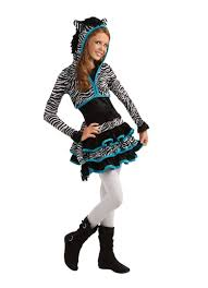 Cute Halloween Costume Ideas Teenage Girls Teen Girls Zebra Tween Animal Halloween Costume Favorite