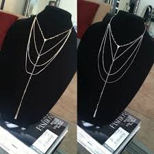 multi layered black necklace images Gold or silver long multi layer lariat necklace c c collection jpg