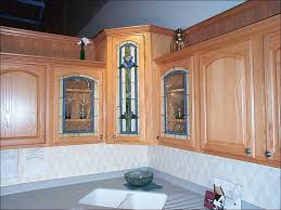 kitchen kitchen wall cabinets with glass doors seeded glass