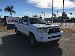 Toyota Tacoma Double Cab Long Bed Used Cars For Sale Alhambra Ca 91803 Jnb Motor Inc