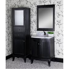 classic 27 inch traditional single sink bathroom vanity matte