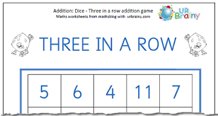 year 1 maths 3 in a row addition maths blog
