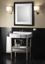 bathroom console sinks with 4 legs double sink console