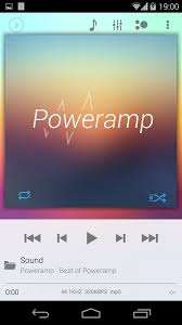 Skin Light Skin For Poweramp Holo Light Android Apps On Google Play