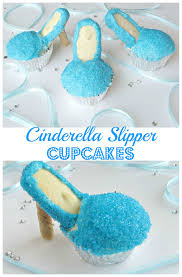 cinderella cupcakes slipper cupcakes val event gal