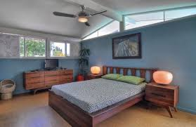 mid century modern bedroom paint colors modern black painted king