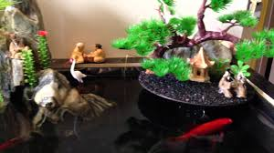 Indoor Pond by Tiểu Cảnh Hòn Non Bộ Penjing Landscaping Mini Indoor Fish Pond