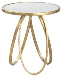 Accent Side Table Gold Side Table Gold Side Table Adventurism Co