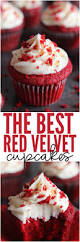 the best red velvet cupcakes are a light cake with a beautiful red