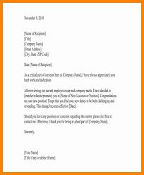 role change letter format letter format 2017