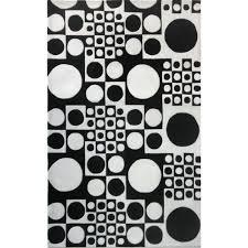 Round White Rugs Accessories Black And White Rug Kropyok Home Interior Exterior