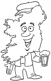 myths ireland coloring ireland coloring pages kids