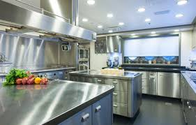 commercial kitchen metal cabinets interior design decor