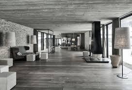 concrete interior design elegant hotel in austria concrete and granite