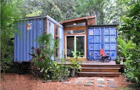 EcoFriendly House Made From Two Shipping Containers