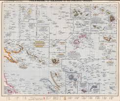 Guadalcanal Map British Solomon Islands Protectorate
