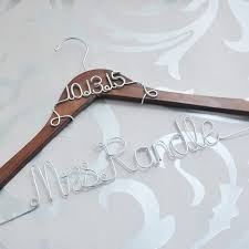 personalized wedding hangers custom wedding hanger personalized bridal dress hanger with date
