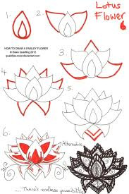 Simple Lotus Flower Drawing - best 25 lotus flower paintings ideas on pinterest lotus
