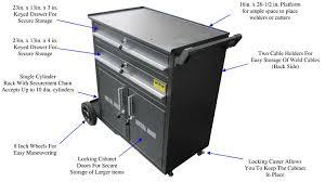 welding cabinet with drawers metal man dwc2 dual bottle deluxe welding cabinet