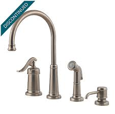 pewter kitchen faucets rustic pewter ashfield 1 handle kitchen faucet gt26 4ype