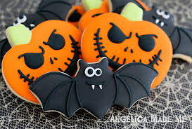 custom decorated cookies for halloween angelicamademeangelicamademe