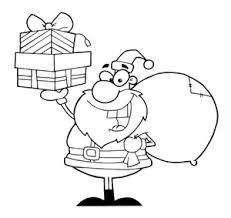 free santa claus clip art image santa claus coloring