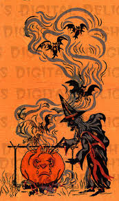 219 best vintage halloween cards images on pinterest vintage