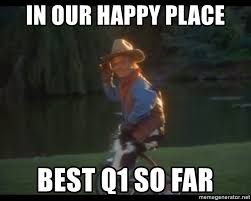 Happy Place Meme - in our happy place best q1 so far happy place trike midget