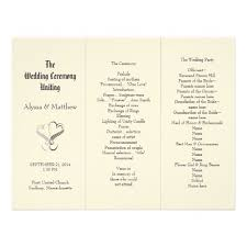trifold wedding program paper 58 best wedding programs images on wedding fan