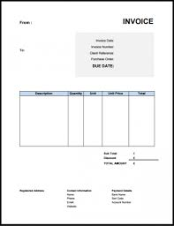 Free Email Invoice Template Uk Invoice Template Free Download Rabitah Net
